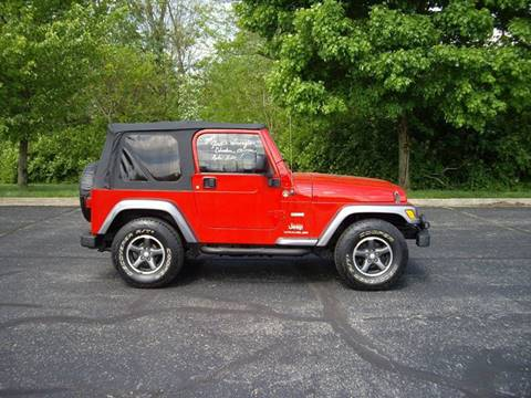 2004 Jeep Wrangler for sale in Richmond, IN