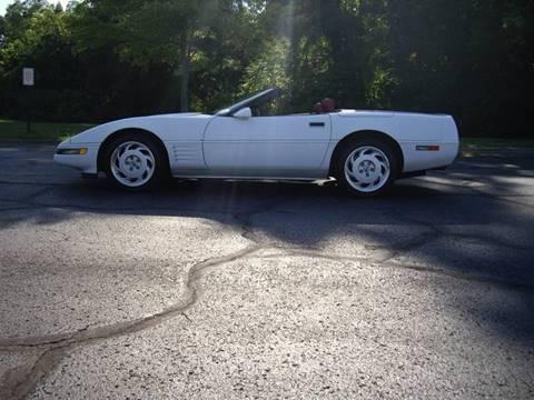 1991 Chevrolet Corvette for sale in Richmond, IN