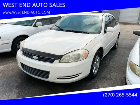 West End Auto >> Chevrolet Impala For Sale In Elkton Ky West End Auto Sales