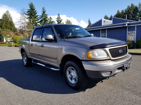 2002 Ford F-150 for sale in Lynnwood, WA