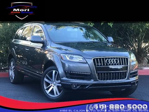 2014 Audi Q7 for sale in San Diego, CA