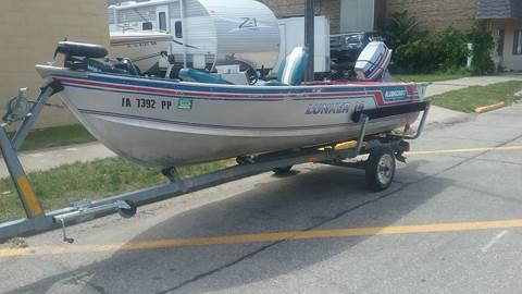 1986 lunker 14 for sale in La Porte City, IA