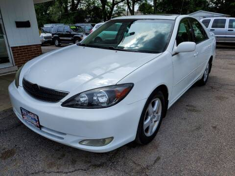 2002 Toyota Camry for sale at New Wheels in Glendale Heights IL