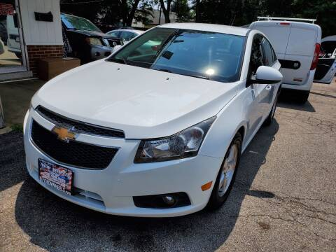 2013 Chevrolet Cruze for sale at New Wheels in Glendale Heights IL
