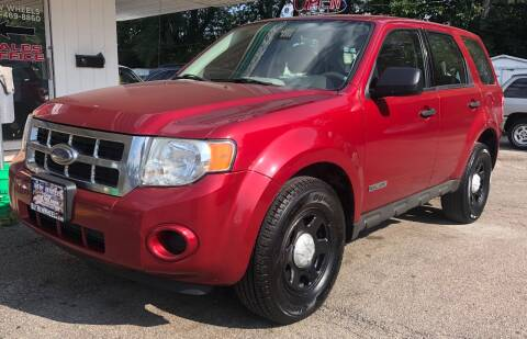 2008 Ford Escape for sale at New Wheels in Glendale Heights IL