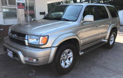 2002 Toyota 4Runner for sale at New Wheels in Glendale Heights IL