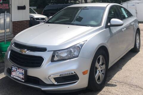 2015 Chevrolet Cruze for sale at New Wheels in Glendale Heights IL