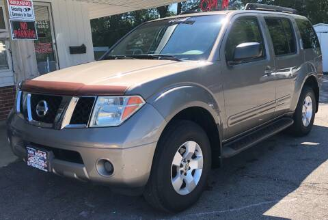 2007 Nissan Pathfinder for sale at New Wheels in Glendale Heights IL