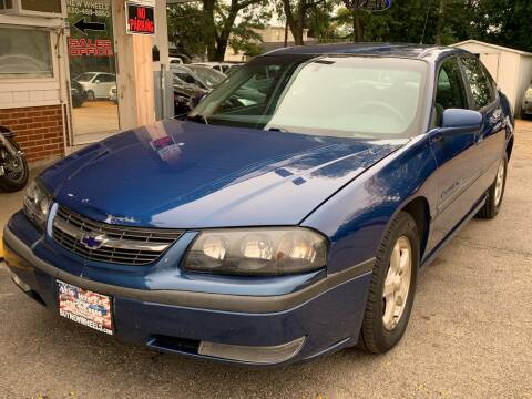 2003 Chevrolet Impala for sale at New Wheels in Glendale Heights IL