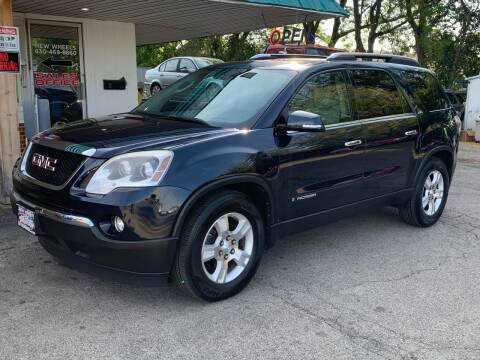 2008 GMC Acadia for sale at New Wheels in Glendale Heights IL