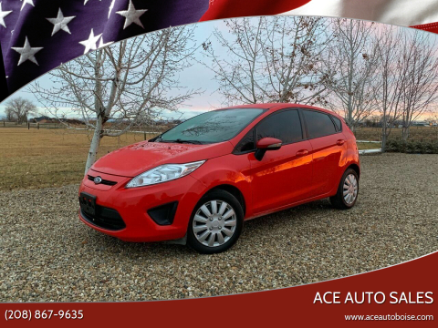 2013 Ford Fiesta for sale at Ace Auto Sales in Boise ID