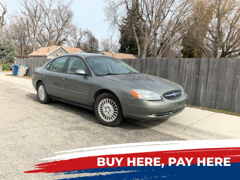 2002 Ford Taurus for sale at Ace Auto Sales in Boise ID