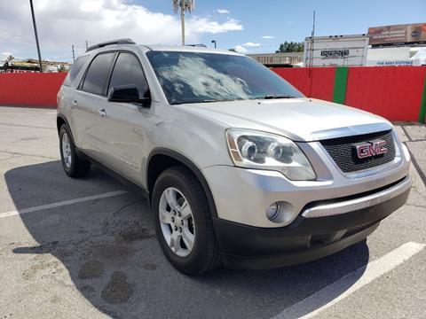 2008 GMC Acadia for sale in Las Vegas, NV