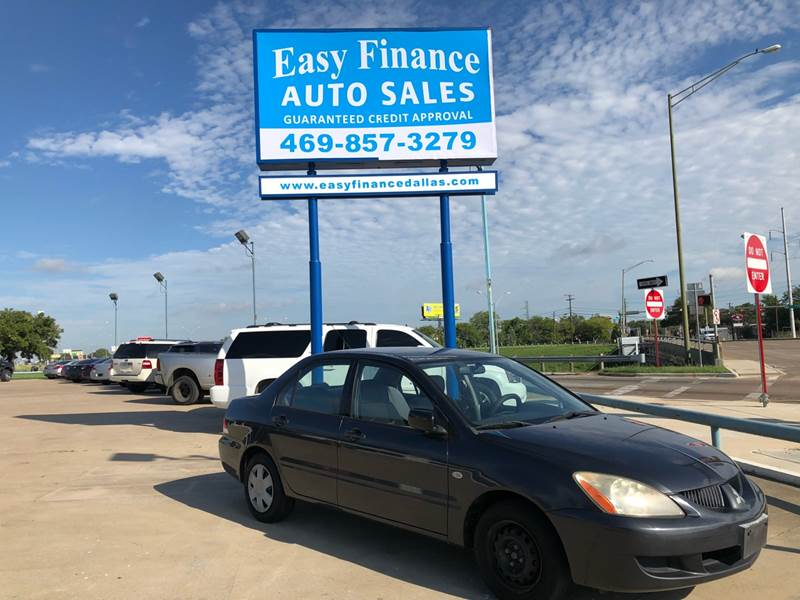 2004 Mitsubishi Lancer For Sale At Easy Finance Auto Sales In Dallas TX