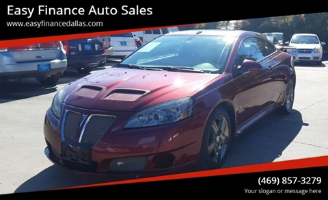 2008 Pontiac G6 for sale in Dallas, TX