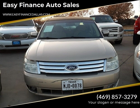 2008 Ford Taurus for sale in Dallas, TX