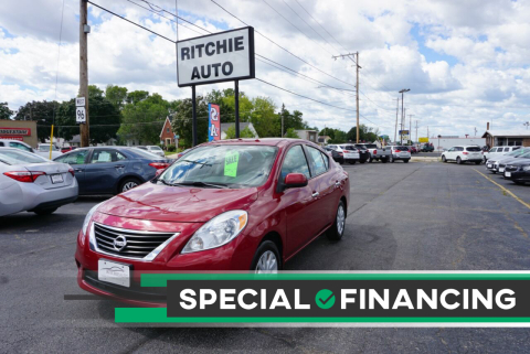 2014 Nissan Versa for sale at Ritchie Auto in Appleton WI