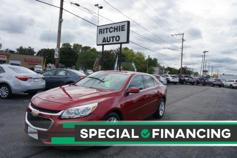 2014 Chevrolet Malibu for sale at Ritchie Auto in Appleton WI