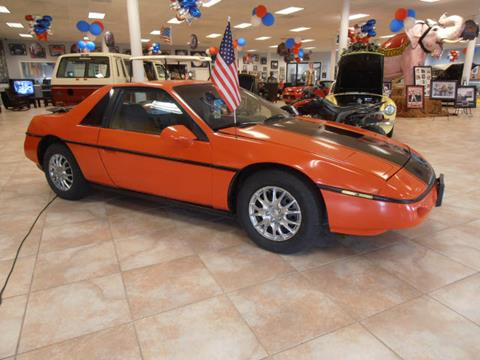 1987 Pontiac Fiero for sale at BLACKWELL MOTORS INC in Farmington MO