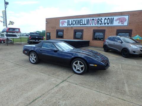 1988 Chevrolet Corvette for sale at BLACKWELL MOTORS INC in Farmington MO