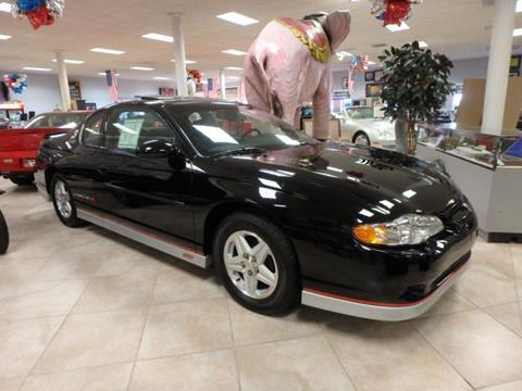 2002 Chevrolet Monte Carlo for sale at BLACKWELL MOTORS INC in Farmington MO