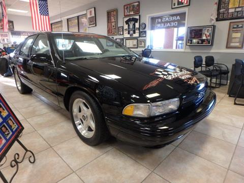 1996 Chevrolet Impala for sale at BLACKWELL MOTORS INC in Farmington MO
