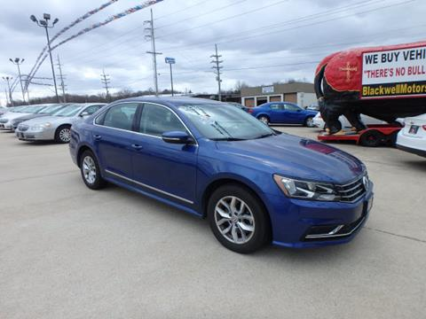 2016 Volkswagen Passat for sale at BLACKWELL MOTORS INC in Farmington MO