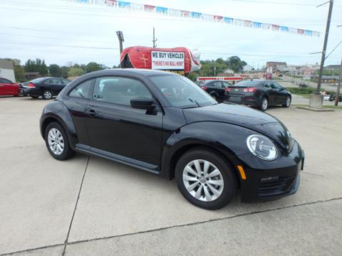 2017 Volkswagen Beetle for sale at BLACKWELL MOTORS INC in Farmington MO