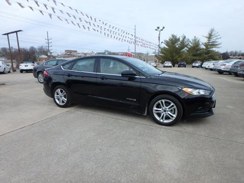 2018 Ford Fusion Hybrid for sale at BLACKWELL MOTORS INC in Farmington MO