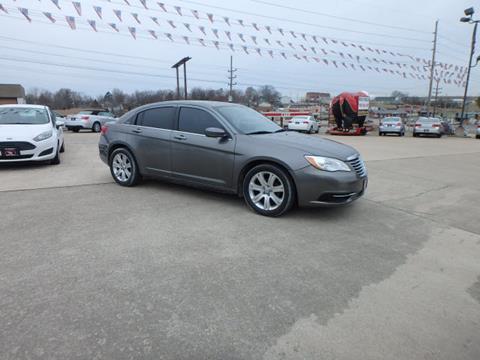 2012 Chrysler 200 for sale at BLACKWELL MOTORS INC in Farmington MO