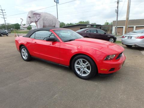 2011 Ford Mustang for sale at BLACKWELL MOTORS INC in Farmington MO