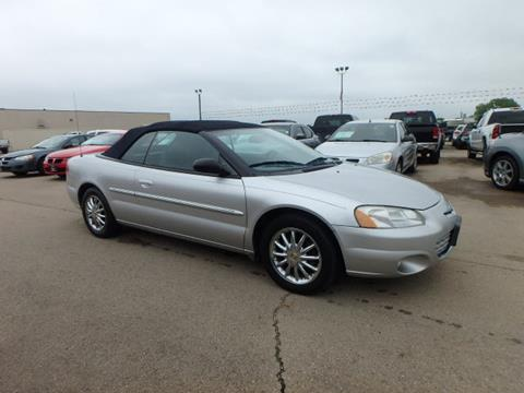 2002 Chrysler Sebring for sale at BLACKWELL MOTORS INC in Farmington MO