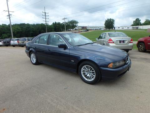 2002 BMW 5 Series for sale at BLACKWELL MOTORS INC in Farmington MO
