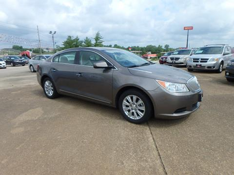 2011 Buick LaCrosse for sale at BLACKWELL MOTORS INC in Farmington MO