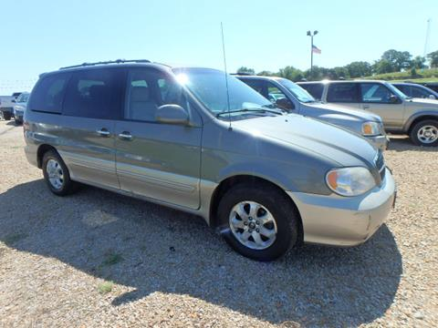 2005 Kia Sedona for sale at BLACKWELL MOTORS INC in Farmington MO