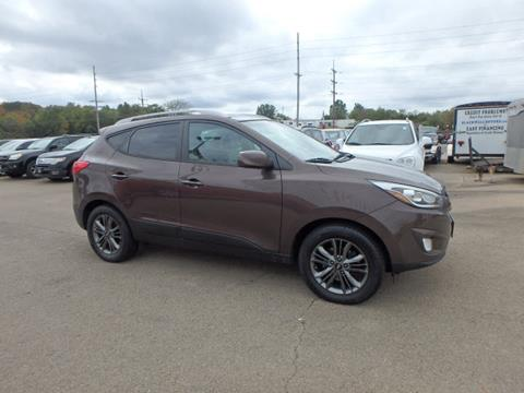2014 Hyundai Tucson for sale at BLACKWELL MOTORS INC in Farmington MO