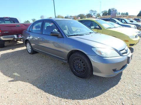 2004 Honda Civic LX for sale at BLACKWELL MOTORS INC in Farmington MO