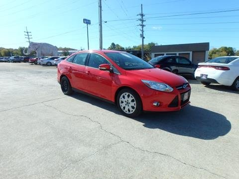 2012 Ford Focus for sale at BLACKWELL MOTORS INC in Farmington MO