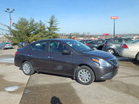 2015 Nissan Versa for sale at BLACKWELL MOTORS INC in Farmington MO
