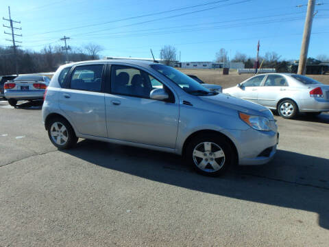 2010 Chevrolet Aveo for sale at BLACKWELL MOTORS INC in Farmington MO