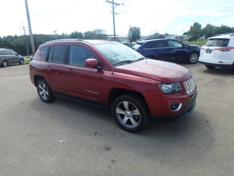 2016 Jeep Compass for sale at BLACKWELL MOTORS INC in Farmington MO
