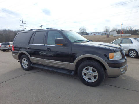 2003 Ford Expedition Eddie Bauer for sale at BLACKWELL MOTORS INC in Farmington MO