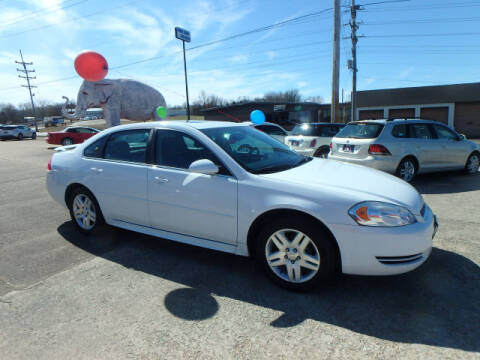 2014 Chevrolet Impala Limited for sale at BLACKWELL MOTORS INC in Farmington MO