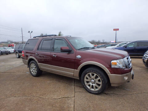 2012 Ford Expedition for sale at BLACKWELL MOTORS INC in Farmington MO