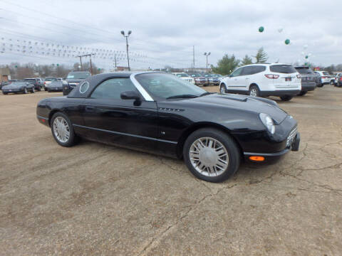 2003 Ford Thunderbird for sale at BLACKWELL MOTORS INC in Farmington MO