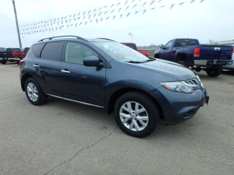 2012 Nissan Murano for sale at BLACKWELL MOTORS INC in Farmington MO