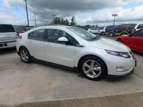 2013 Chevrolet Volt for sale at BLACKWELL MOTORS INC in Farmington MO