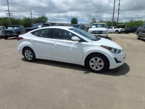 2016 Hyundai Elantra for sale at BLACKWELL MOTORS INC in Farmington MO