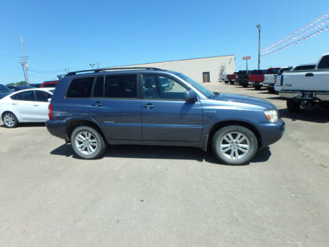 2007 Toyota Highlander Hybrid for sale at BLACKWELL MOTORS INC in Farmington MO