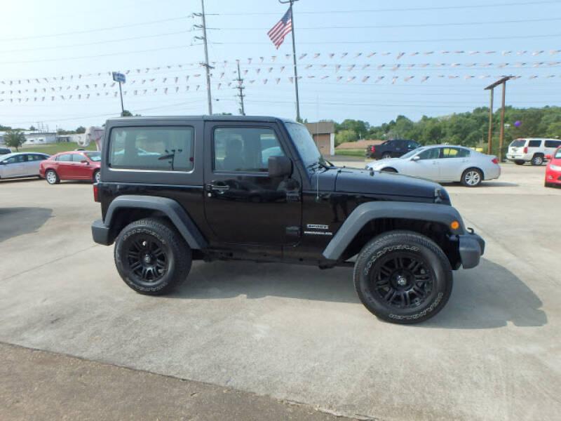 2013 Jeep Wrangler for sale at BLACKWELL MOTORS INC in Farmington MO